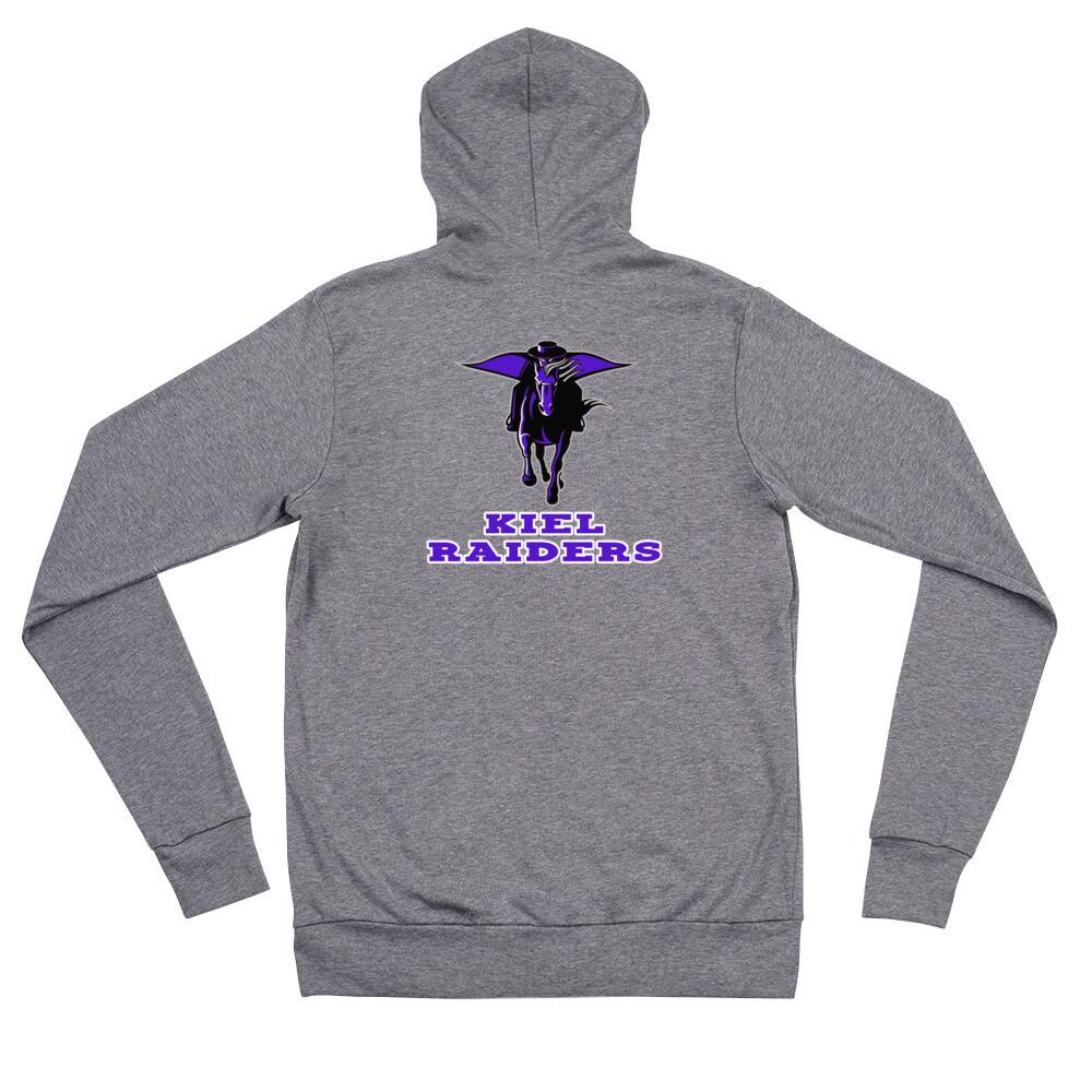 Kiel Raiders Unisex zip hoodie