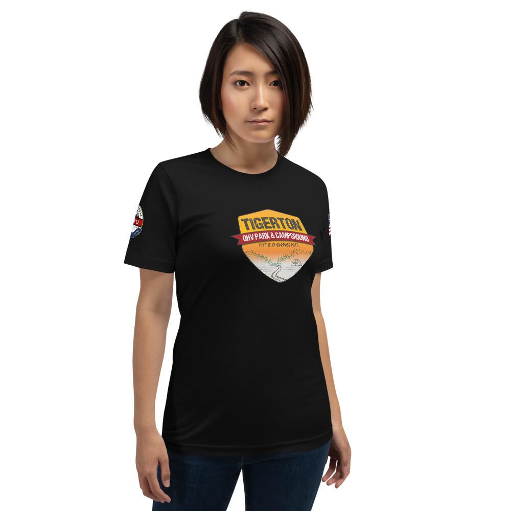 RL4WD Glacial Lake Tigerton USA Short-Sleeve Unisex T-Shirt