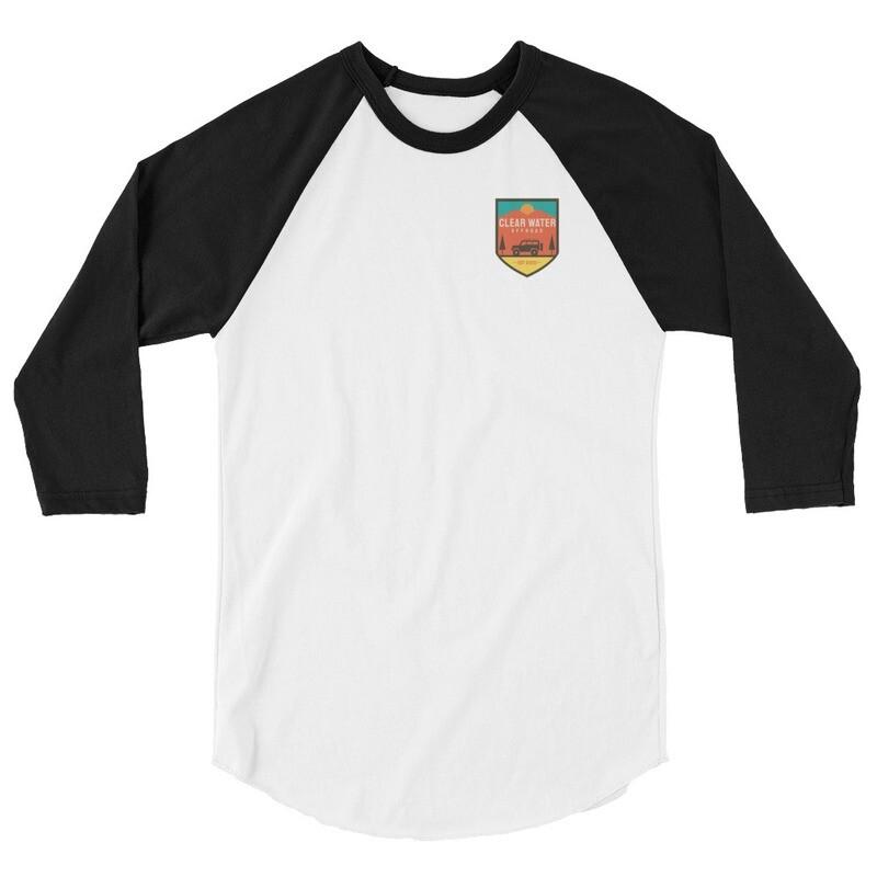 Clearwater RL4WD 3/4 sleeve raglan shirt