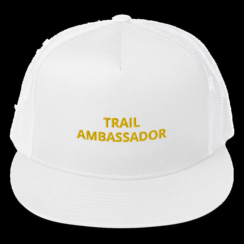 Trail Ambassador Flat Trucker Cap