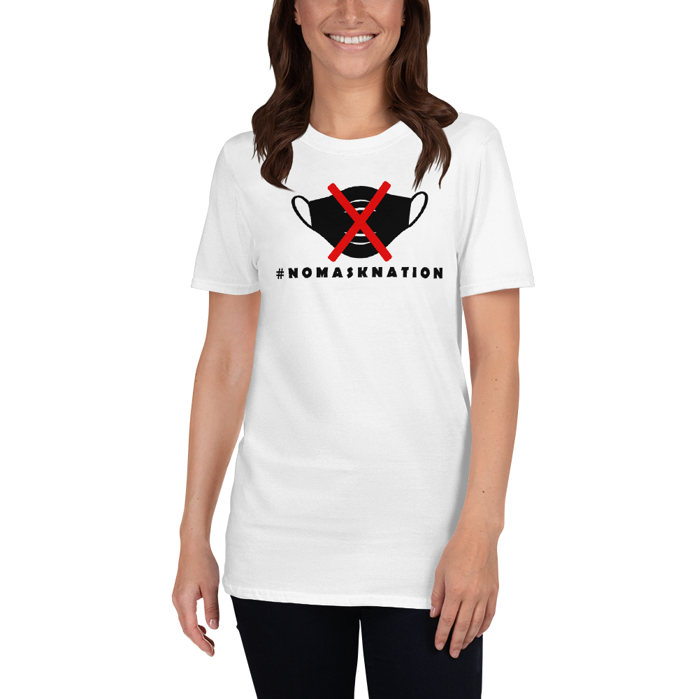 Light NoMaskNation Short-Sleeve Unisex T-Shirt