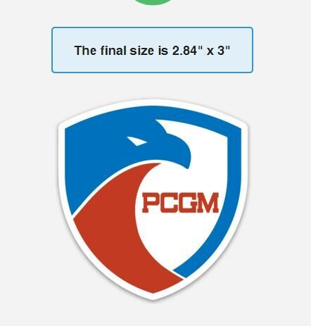 PCGM Sticker Set