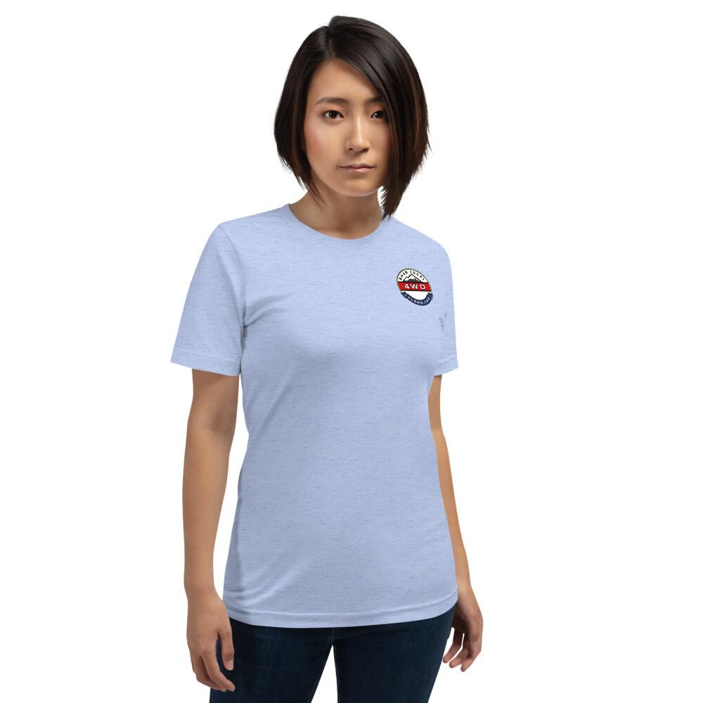 RL4WD Americas Trails Short-Sleeve Unisex T-Shirt