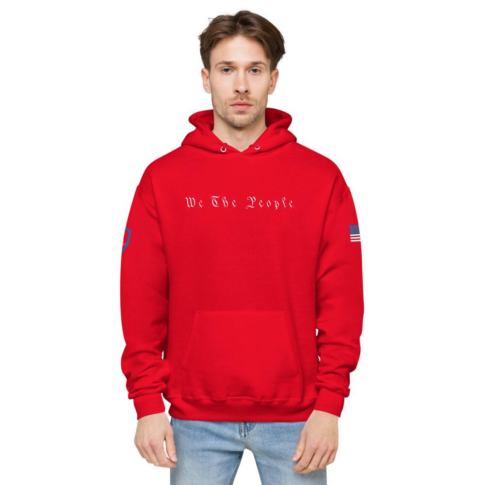 We The People USPC Unisex fleece hoodie