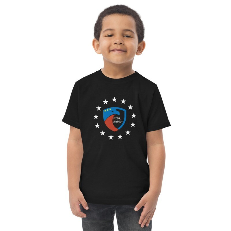 USPC We The People Toddler jersey t-shirt
