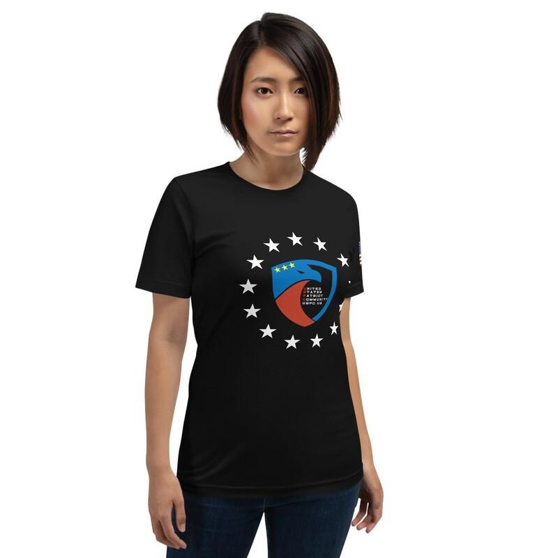 Stars And Flag USPC Short-Sleeve Unisex T-Shirt