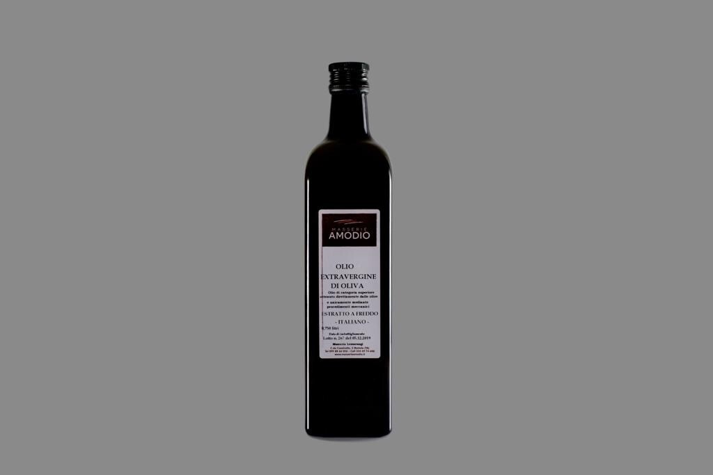 Olio EVO confezione da 0,75 litri