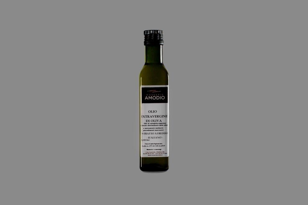 Olio EVO confezione da 0,25 litri