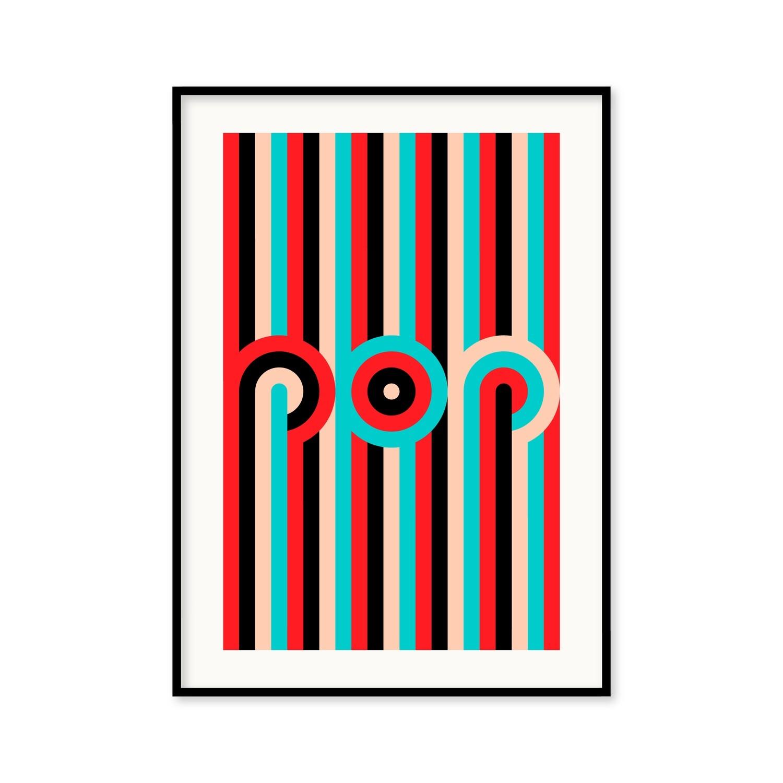 Pop - Poster 50x70