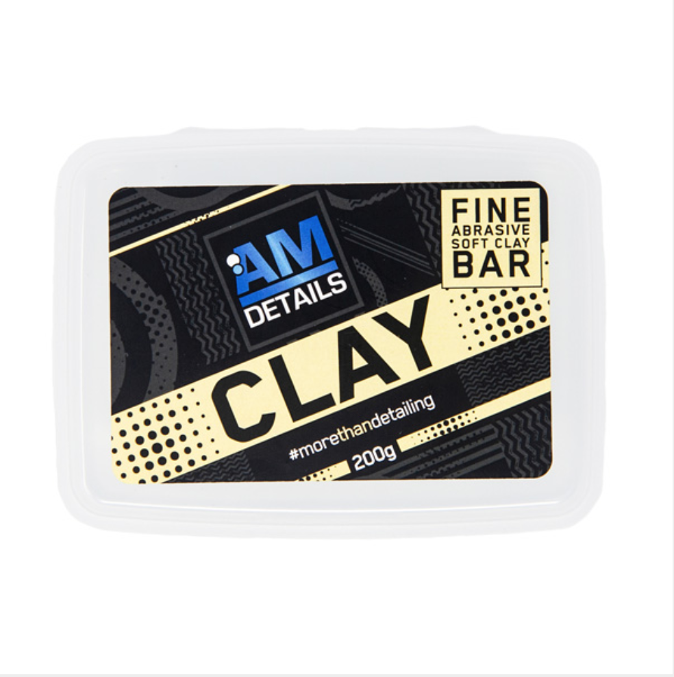 AM Clay Bar - Fine Abrasive Soft Clay Bar