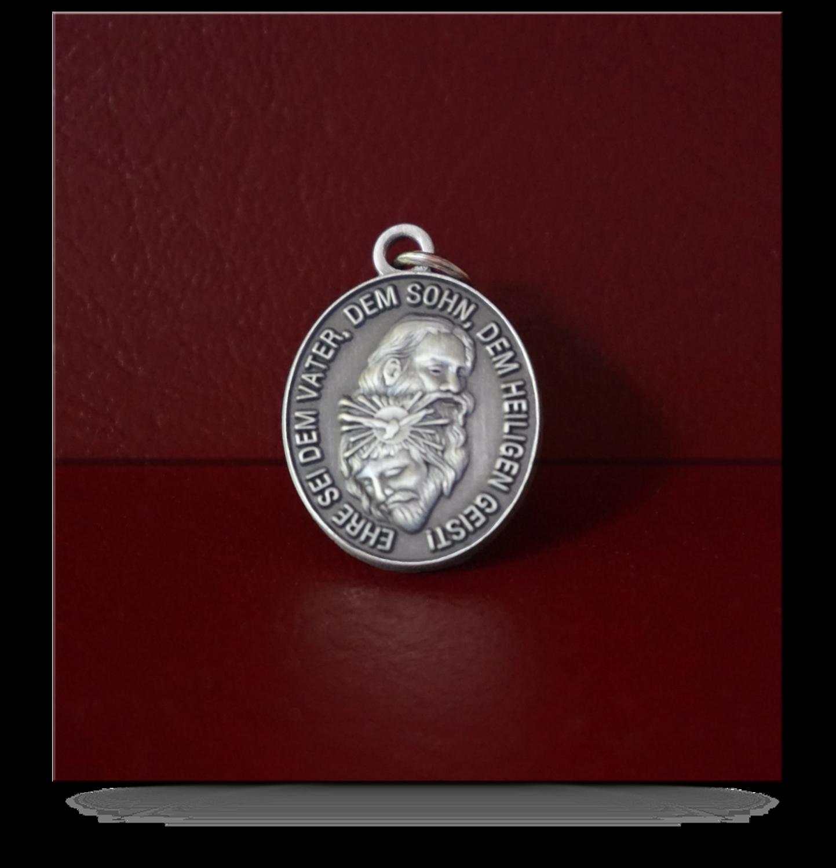 Medaille oval – Allerheiligste DREIFALTIGKEIT