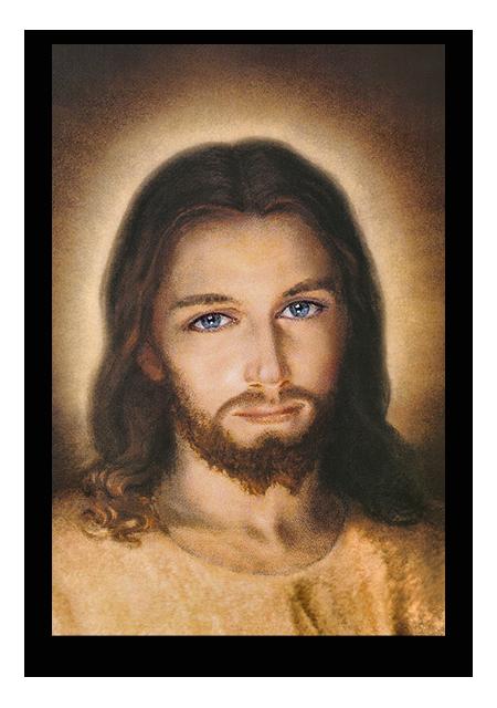 Bamherziger JESUS – Faustinabild – Grösse 1