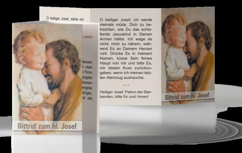 Bittruf zum hl. Josef