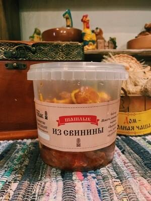 Шашлык из свинины в соусе «Барбекю»