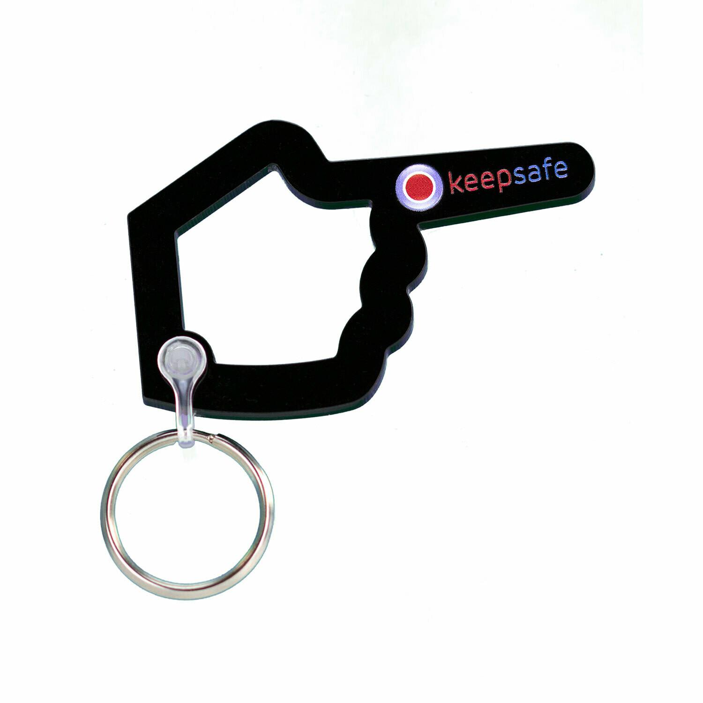 Keepsafe Helping Hand Keyring