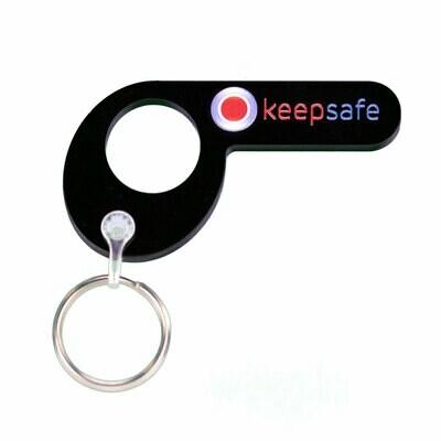 Keepsafe Digit Style Keyring