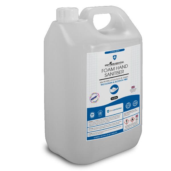 Foam Hand Sanitiser - 5ltr REFILL (Enquiries Only)