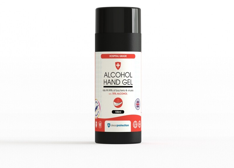 70% Alcohol Hand Gel - 100ml (Enquiries Only)