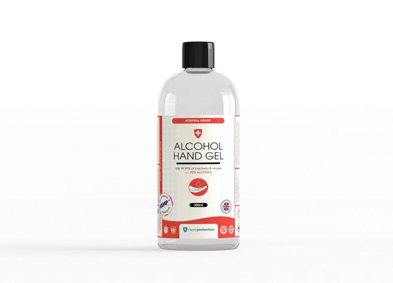 70% Alcohol Hand Gel - 300ml (Flip top Lid)
