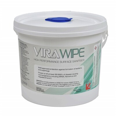 Virawipe 3L Surface Sanitiser (225 wipes)