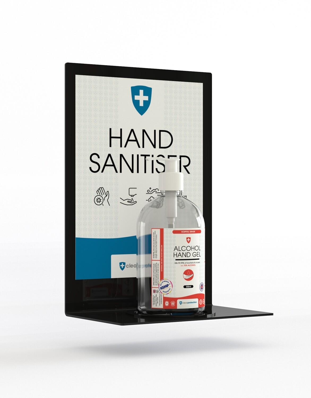 Acrylic Desk Standing Sanitiser Holder