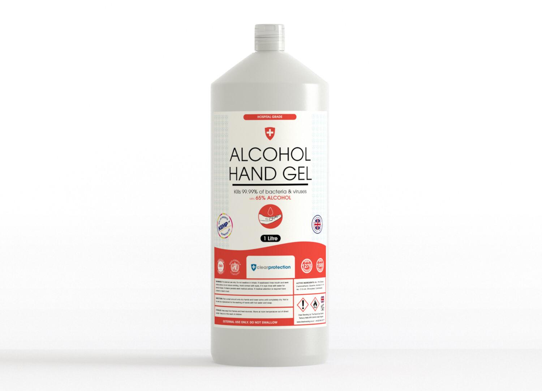 70% Alcohol Hand Gel - 1 Litre
