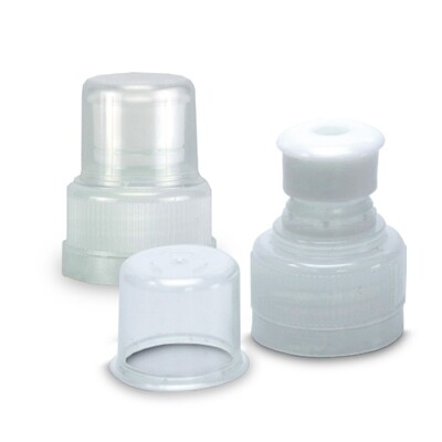Push Pull Top Clear 28mm