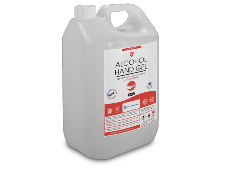 70% Alcohol Hand Gel - 5 Litre