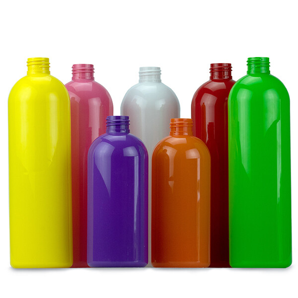 PET Coloured Bottles