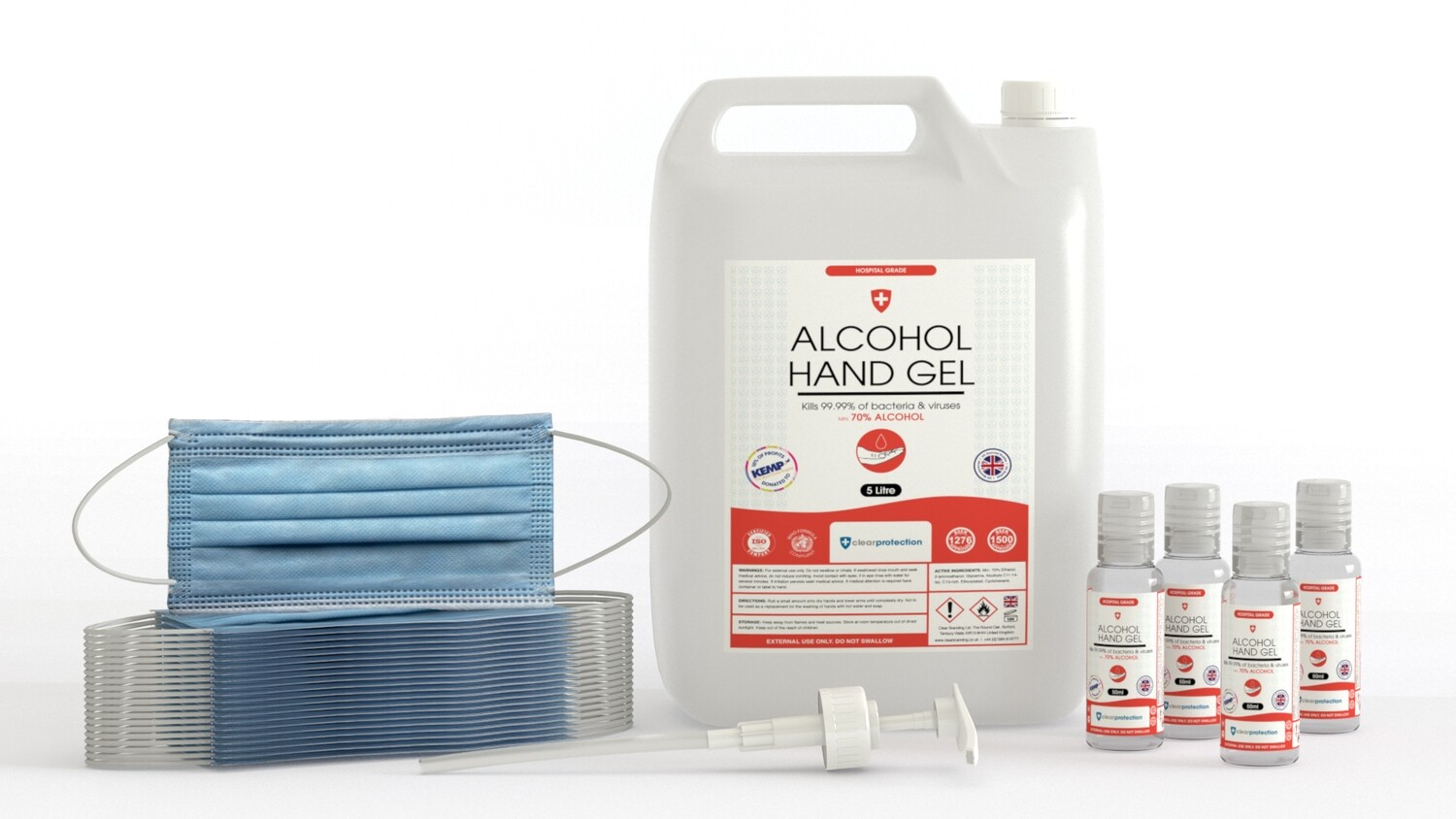 70% Alcohol Family Protection Bundle Pack