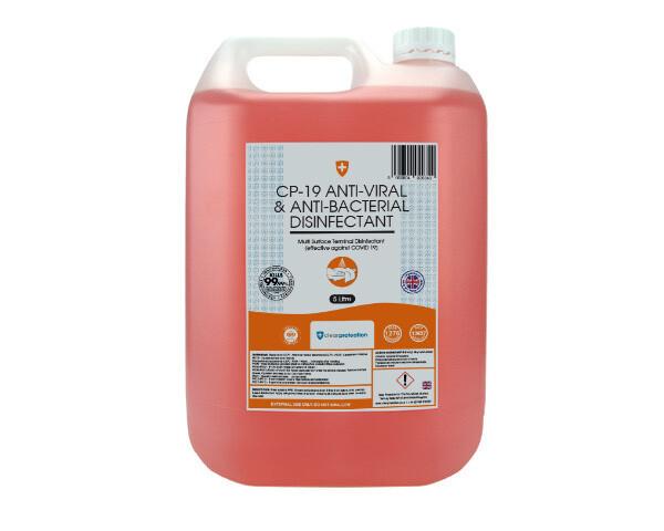 Covid-19 Anti Viral & Anti Bacterial Disinfectant