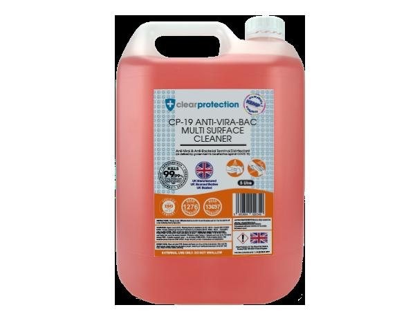 CP-19 Anti-Vira-Bac Multi-Surface Cleaner - 5L