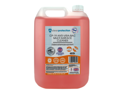 CP-19 Anti-Vira-Bac Multi-Surface Cleaner - 5L