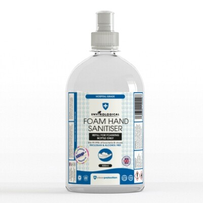 Foam Hand Sanitiser - 500ml REFILL