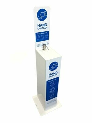 Hand Operated Sanitiser Station (Enquiries Only)