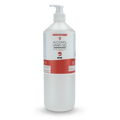 70% Alcohol Hand Gel - 1 Litre-Lotion Pump Top