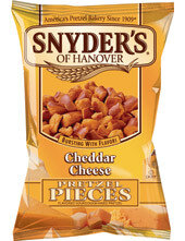 Snyder's Pretzel Stücke Cheddar Käse 125g