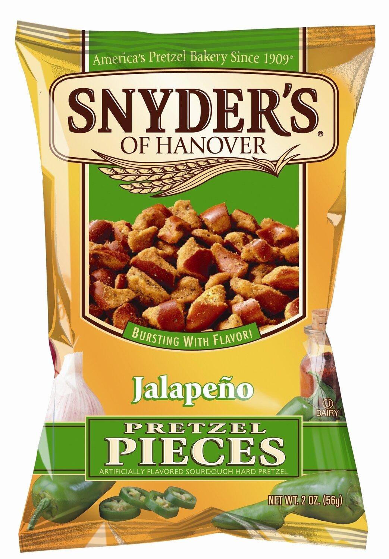 Snyder's Pretzel Stücke Jalapeño 125g