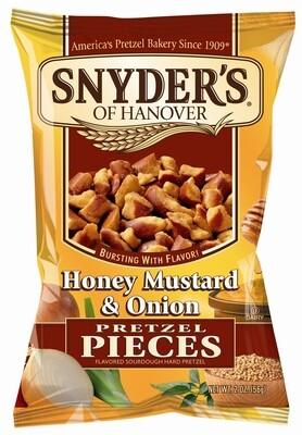 Snyder's Pretzel Honig, Senf und Zwiebeln 125g