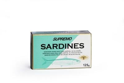 Sardinen ohne Haut und Gräten in Olivenöl