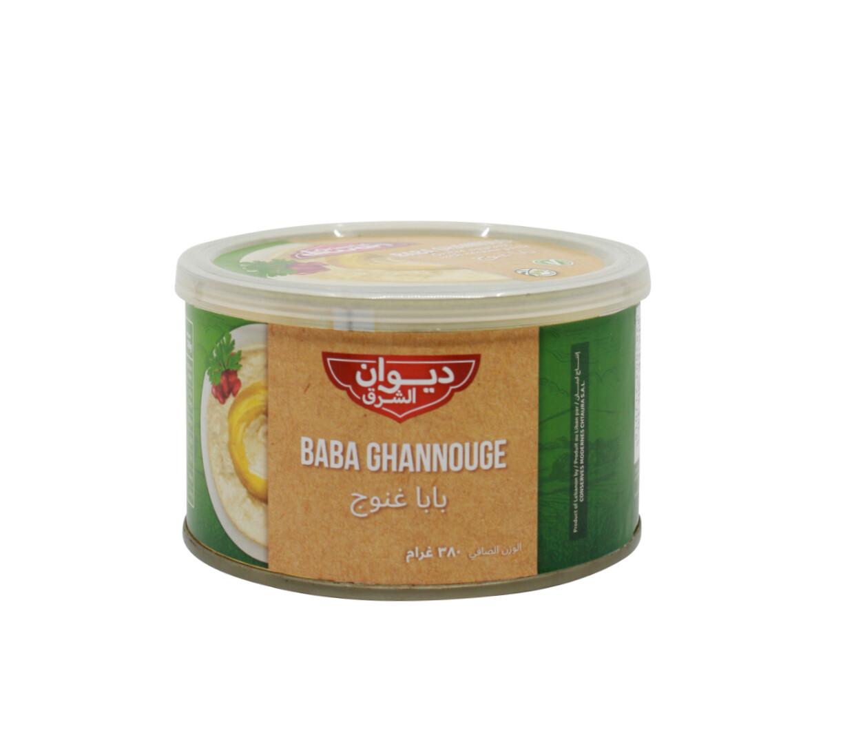 grilliertes Auberginenpüree mit Tahini und Olivenöl (Baba Gannoujh)