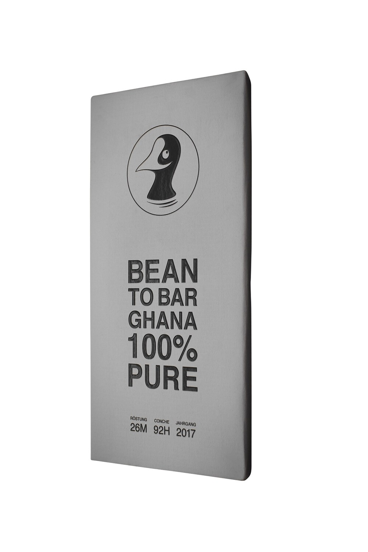 "Taucherli - ""Bean to Bar"" - Ghana 100% Pure"