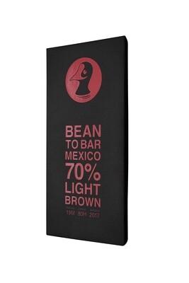 """Taucherli - """"Bean to Bar"""" - Mexico 70% light brown"""