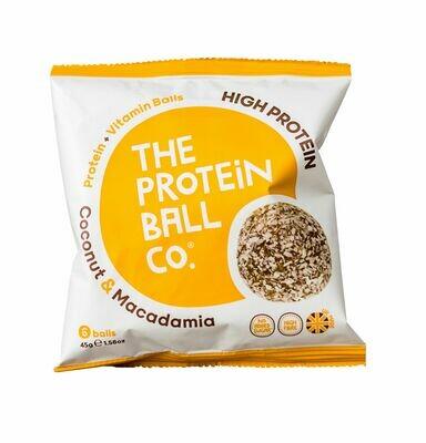 Proteinkugeln Kokosnuss + Macadamia 45g