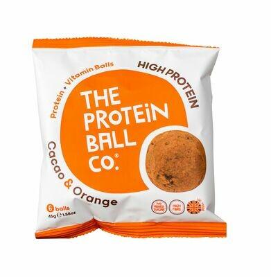 Proteinkugeln Kakao + Orange 45g