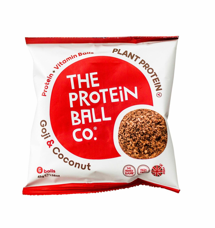 Proteinkugeln Goji + Kokosnuss 45g