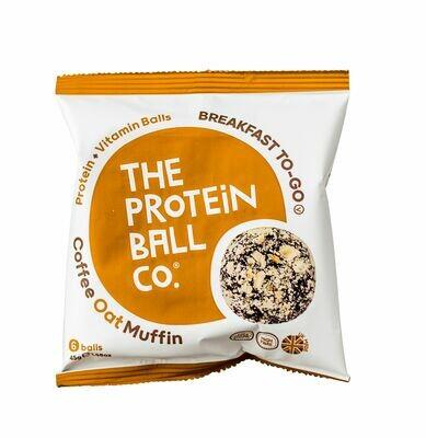 Proteinkugeln Coffee Oat Muffin - Breakfast to Go