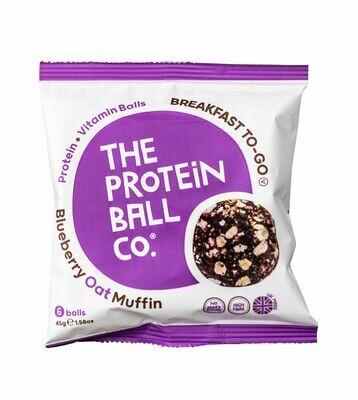 Proteinkugeln Blueberry Oat Muffin - Breakfast to Go