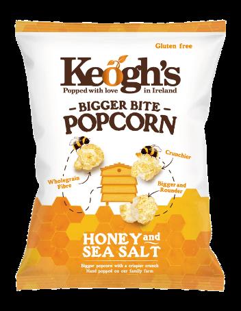Popcorn Honig und Salz 90g