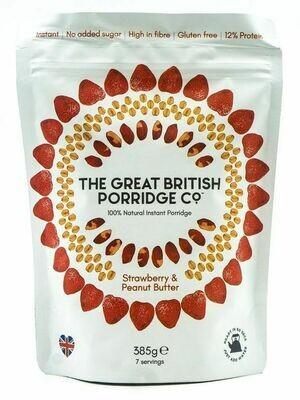 Porridge Erdbeeren und Erdnussbutter, 385g